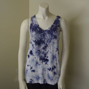 Knox Rose - Floral Lace Tank